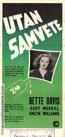 Another Man´s Poison 1952 poster Bette Davis