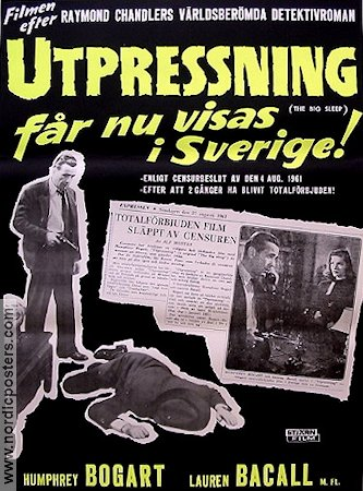 The Big Sleep 1946 Howard Hawks Humphrey Bogart Lauren Bacall Raymond Chandler