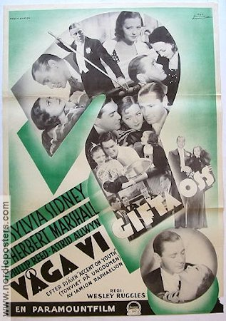 Accent on Youth 1935 poster Sylvia Sidney