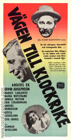 V�gen till klockrike 1953 Movie poster Anders Ek