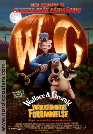 Varulvskaninens f�rbannelse 2005 Nick Park Wallace and Gromit