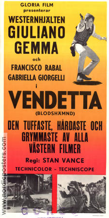 Long Days of Vengeance 1967 poster Giuliano Gemma