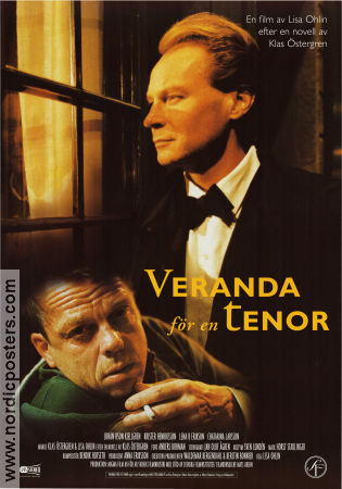 Veranda för en tenor 1998 Movie poster Johan Hson Kjellgren Lisa Ohlin