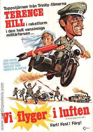 A Crazy Gang in the War 1975 poster Terence Hill