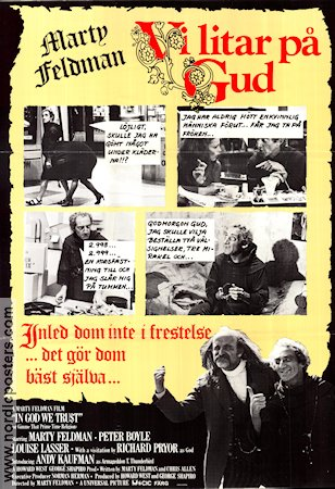 In God We Tru$t 1980 poster Peter Boyle Marty Feldman