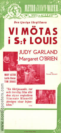 Meet Me in St Louis 1944 poster Judy Garland Vincente Minnelli