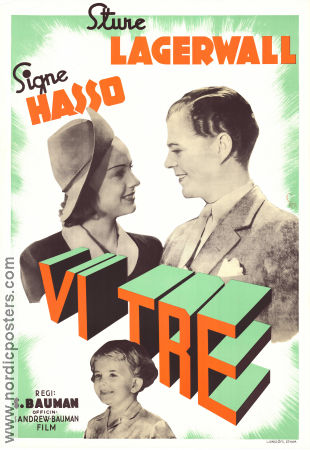 Vi tre 1939 Signe Hasso Sture Lagerwall