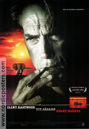 White Hunter Black Heart 1989 poster Clint Eastwood