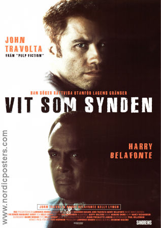 White Man´s Burden 1995 poster John Travolta