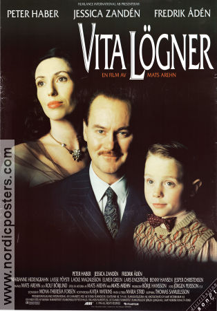 Vita l�gner 1994 Movie poster Peter Haber