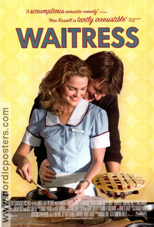 Waitress 2007 poster Keri Russell Adrienne Shelly
