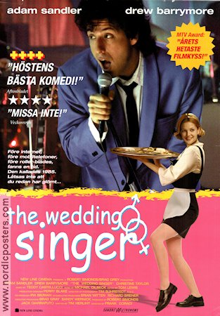 Movie Posters The Wedding Singer