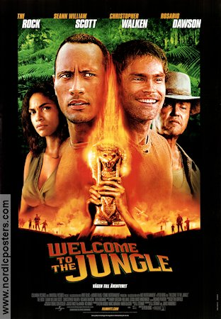 WELCOME TO THE JUNGLE Movie poster 2003 original NordicPosters
