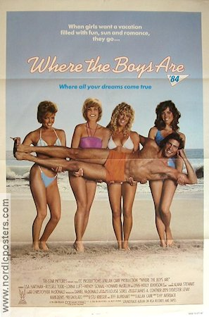 Where the Boys Are 84 1984 Movie poster Lisa Hartman