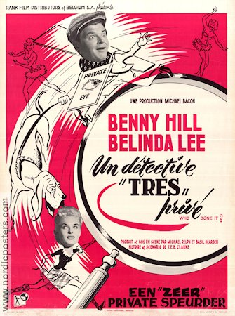 Who Done It 1956 Benny Hill