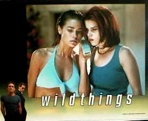 Wild Things 1998 lobby card set Kevin Bacon