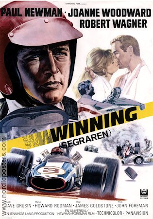 Winning 1969 poster Paul Newman James Goldstone