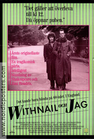 Withnail and I 1987 poster Richard E Grant Bruce Robinson