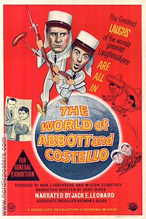 The World of Abbott and Costello 1965 poster Abbott and Costello