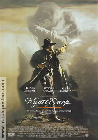Wyatt Earp 1994 Movie poster Kevin Costner
