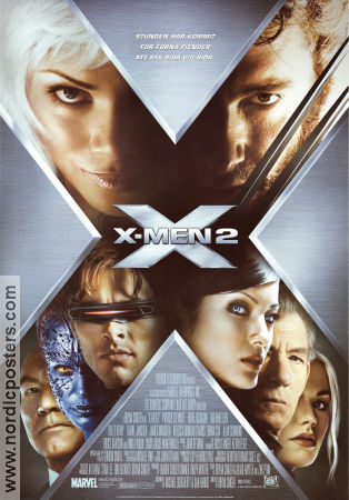 X-Men 2 2003 Movie poster Patrick Stewart