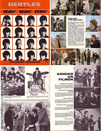 A Hard Day´s Night 1964 poster Beatles Richard Lester
