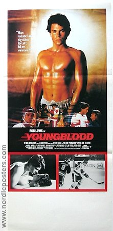 Youngblood 1986 Movie poster Rob Lowe