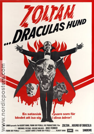 Zoltan Hound of Dracula 1978 Movie poster José Ferrer Albert Band