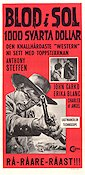 Mille dollari sul nero 1968 Movie poster Anthony Steffen