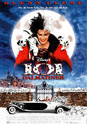 101 Dalmatians 1995 Movie poster Glenn Close