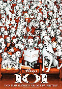 101 Dalmatians 1996 poster Glenn Close Stephen Herek