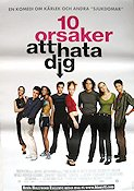 10 Things I Hate About You 1999 poster Heath Ledger Gil Junger