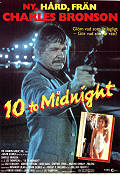 10 to Midnight 1983 Movie poster Charles Bronson