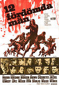Dirty Dozen 1967 poster Lee Marvin Robert Aldrich