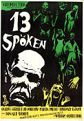13 Ghosts 1960 Movie poster Charles Herbert William Castle
