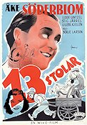 13 stolar 1945 Movie poster �ke S�derblom B�rje Larsson