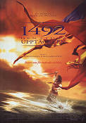 1492 1992 Movie poster Gerard Depardieu Ridley Scott