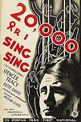 20000 Years in Sing Sing 1932 poster Spencer Tracy