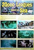 20000 Leagues Under the Sea 1955 poster Kirk Douglas