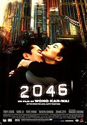 2046 2004 Movie poster Hong-Kong Kar Wai Wong