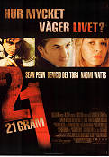 21 Grams 2003 Movie poster Sean Penn