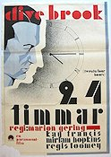 Twenty-four Hours 1932 poster Clive Brook