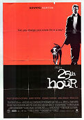 25th Hour 2002 poster Edward Norton Spike Lee