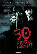 30 Days of Night 2007 Movie poster Josh Hartnett David Slade