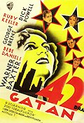 42nd Street 1933 poster Ruby Keeler
