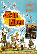 47:an Löken 1971 Movie poster Janne Carlsson Ragnar Frisk