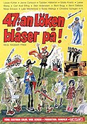 47:an L�ken bl�ser p� 1972 Movie poster Janne Carlsson Ragnar Frisk