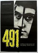 491 1964 Movie poster Lars Lind Vilgot Sj�man