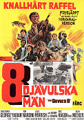 The Devil's 8 1970 Movie poster Christopher George