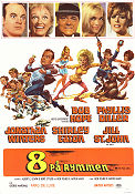 8 on the Lam 1967 poster Bob Hope